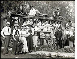 Scottsville Camping Party, 1911