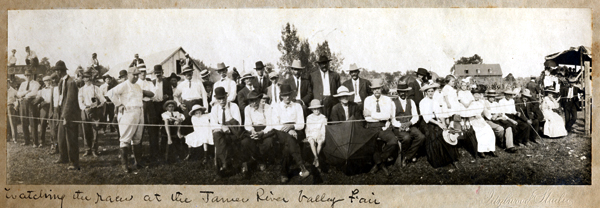 Race Day at the James River Valley Fair, 1890
